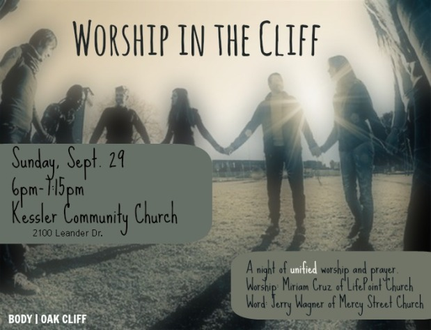 09.29.13 - Worship in the Cliff Flier