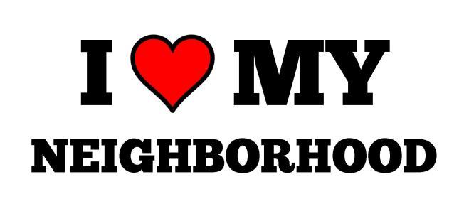 I HEART my Neighborhood